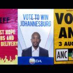 Meet Johannesburg's mayoral candidates