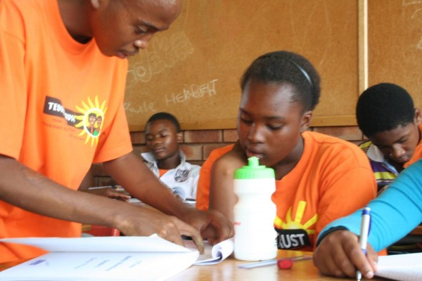 More Soweto tutoring. Photo: Bill