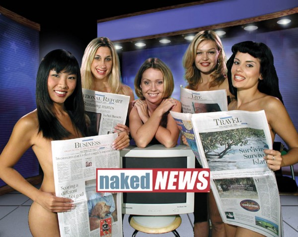 Photo Courtesy Of Naked News International