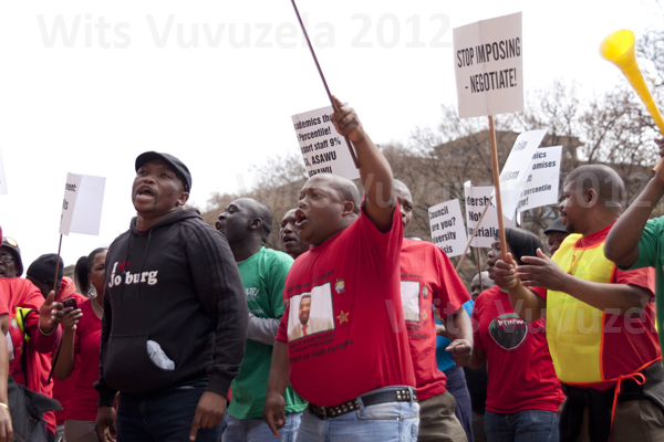 negotiations between the Wits Executive Council and ASAWU, ALTSA and NEHAWU was re-opened a day before the strike