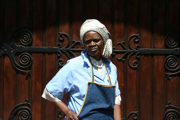 Braamfontein's hip Mother Theresa