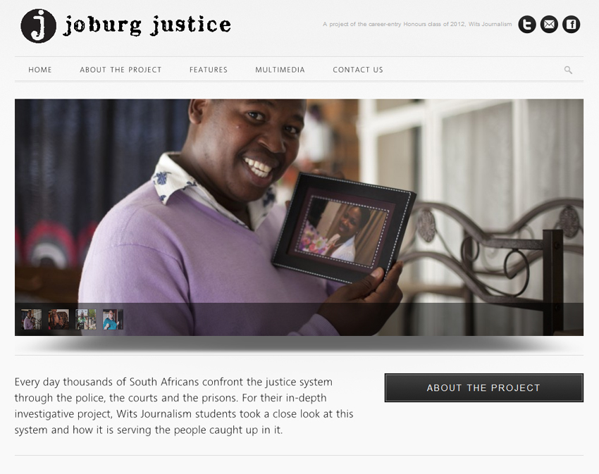 Joburg Justice site goes live