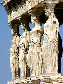 220px-Caryatids_on_the_south_porch_of_the_Erechtheion