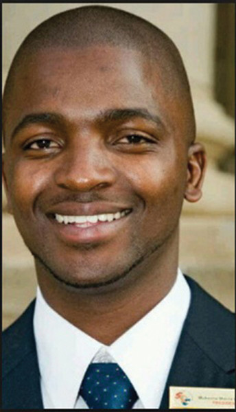 LEADER ON THE RISE: Former SRC president, Morris Masutha Photo: Provided