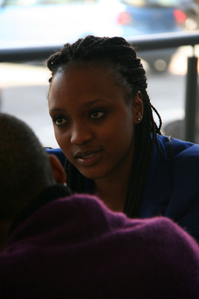 "SIES: Sprinter, Fikile Masikane was forced to stay next to a ""brothel"".  Photo: Mfuneko Toyana"