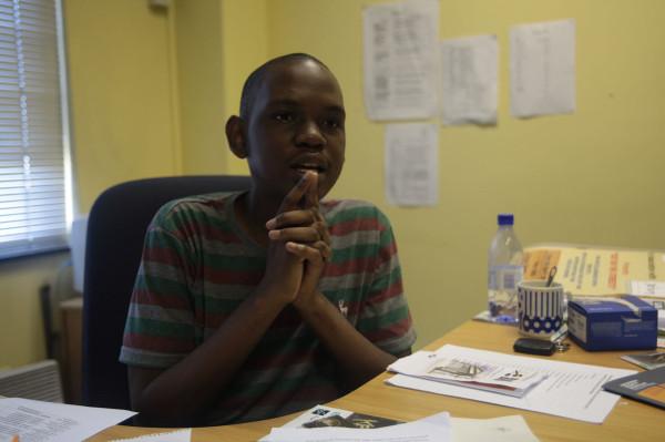 SURVIVOR SRC: SRC President Sibulele Mgudlwa claims intimidation.    Photo: Mia Swart