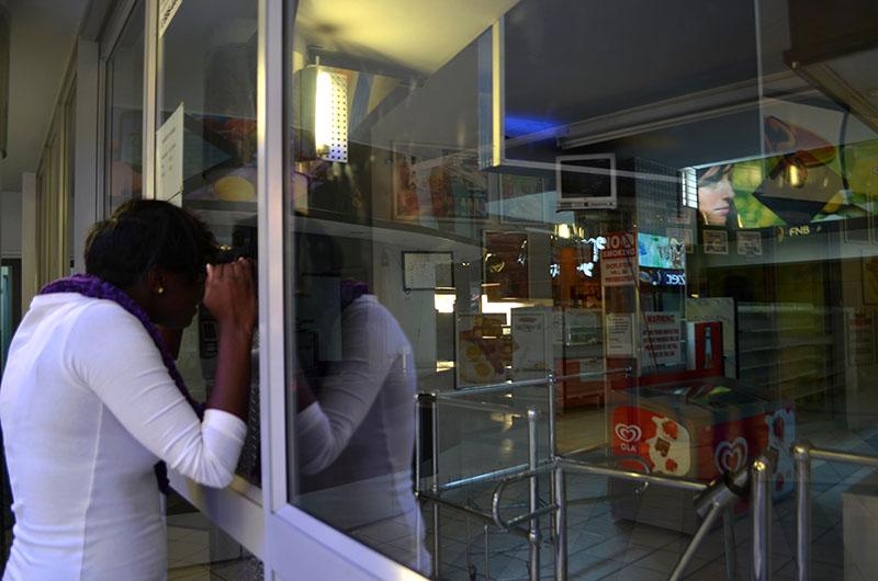NOTHING TO SEE:  The Friendly Supermarket at the Matrix looks set to remain closed. Photo: Pheladi Sethusa