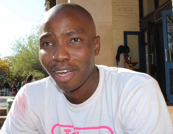 Thato Benedict, founder and chairman of Take Away Cancer and also a maths and economics student started this initiative after his mother passed away in 2011 from cervical cancer.