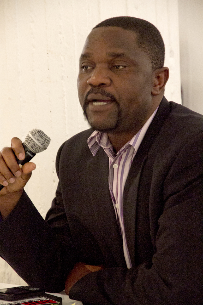Dr Last Moyo pictured at a Wits event last year. Photo: Dinesh Balliah.