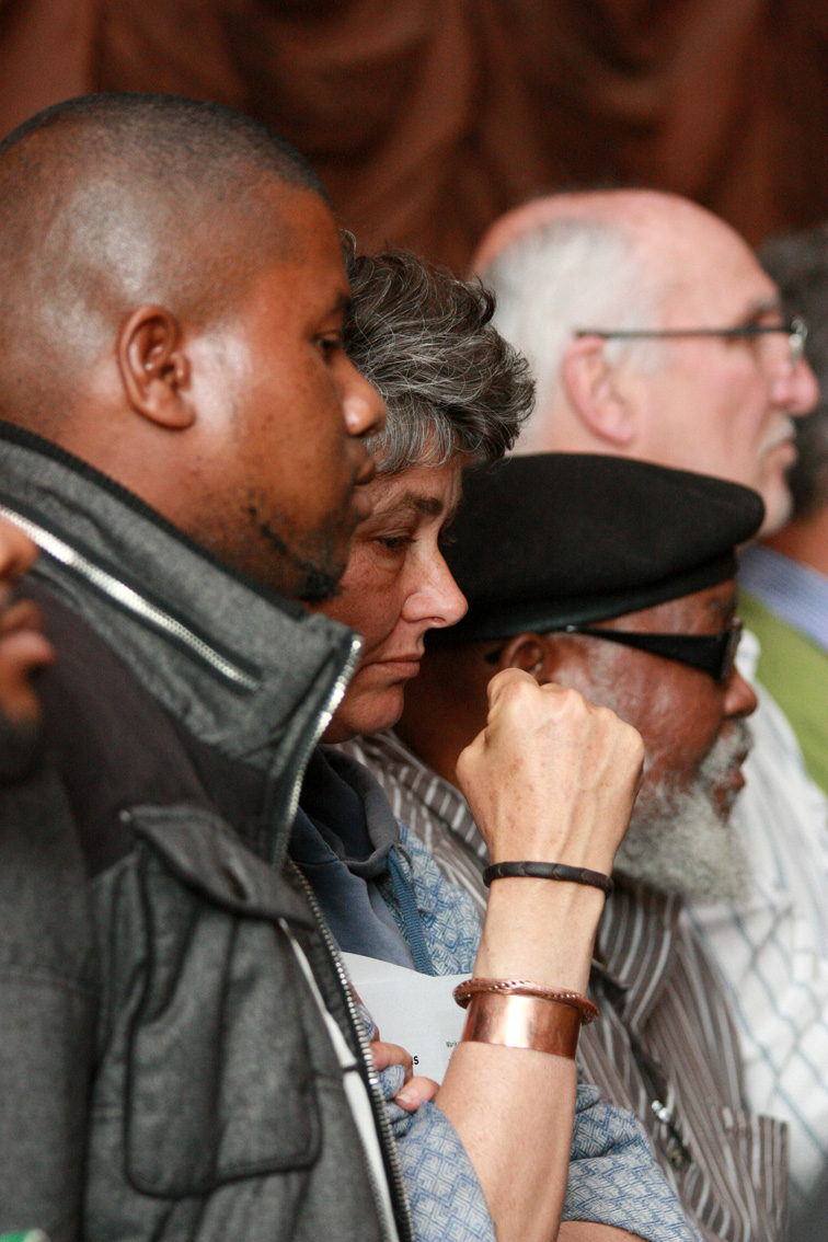 WITH GALLERY & AUDIO: Ruth First Memorial silences miners of Marikana