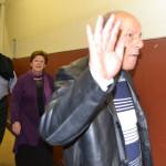 "Arriving guests shunned protesters who sang 'Dubula i-Juda"" (shoot a Jew).  Photo: Nokuthula Manyathi"