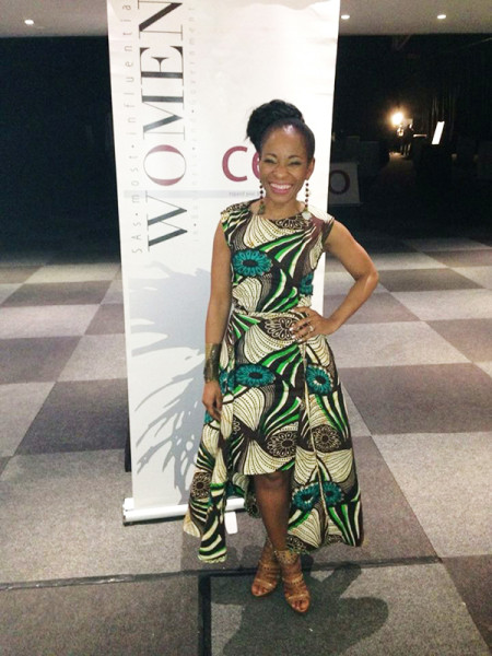 Professor Mamokgethi Setati Phakeng was all smiles after being named Africa's most influential woman in education. Photo: Provided