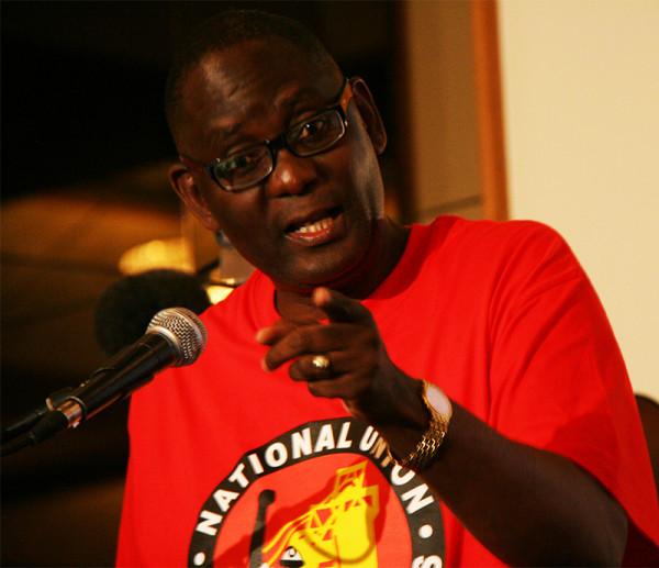 I'VE GOT YOUR NUMBER: Zwelinzima Vavi revealed evidence of a political conspiracy. Photo: Thuletho Zwane