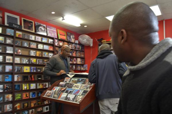 THREE KINGS: The three men of Just So Jazz charged with maintain jazz culture in Braamfontein Photo: Mfuneko Toyana
