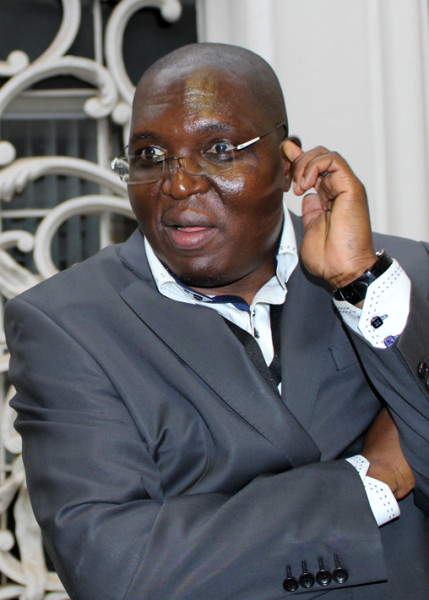 Celebrated investigative journalist Mzilikazi wa Afrika speaks about the difficulties of his profession. Photo: Prelene
