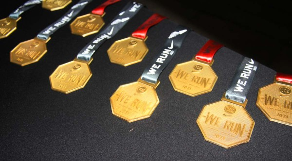 The Medals: some of the prizes the winners took home Photo: Nokuthula Manyathi