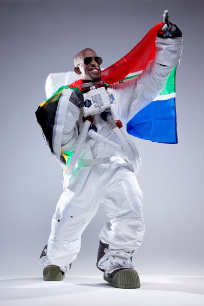 Mandla Maseko is part of the Axe Apollo Space Academy, he is the first Black South African to go to space on the Lynx Mark II shuttle in 2015.  Photo:Provided