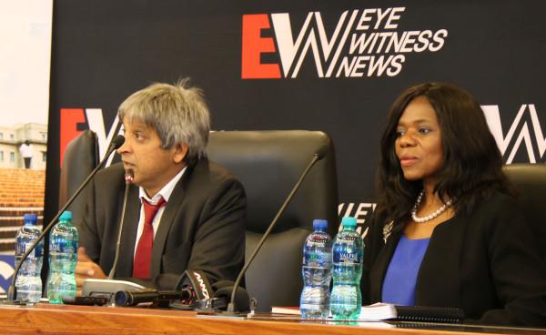 Public Protector Thuli Madonsela and Wits VC Professor Adam Habib