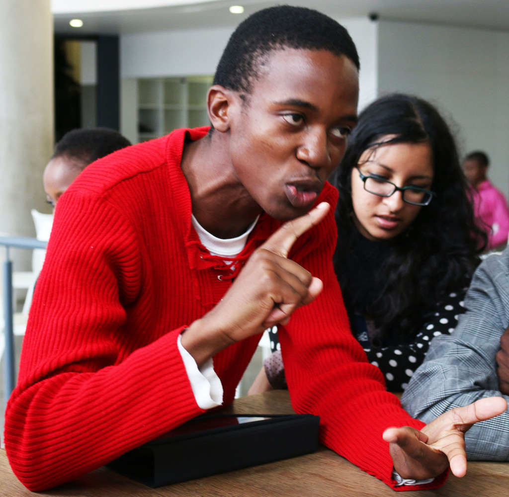 Newly elected chairperson of the school of arts student council, Obett Motaung, explains what they should achieve in 2014