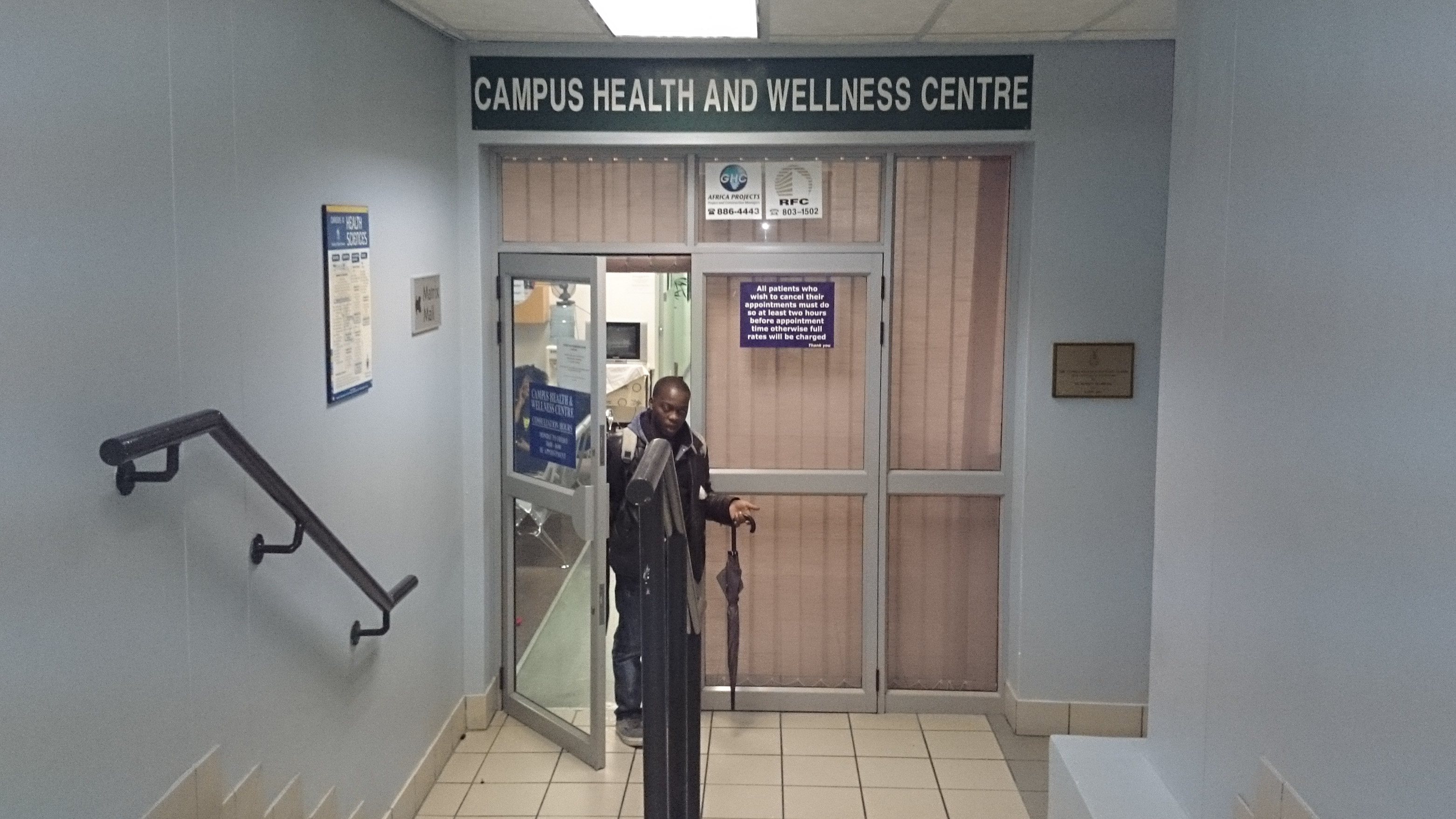 It's not easy to be sick at  Wits