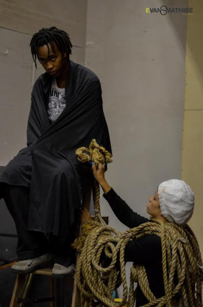 Lift me up : Concrete Metaphors a production by Themba Mkhoma Picture: Evans Mathibe