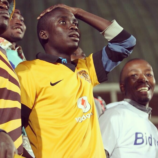 HUSTLING: #Chiefs fans look a little worse for the wear. #BidvestWits #KaizerChiefs