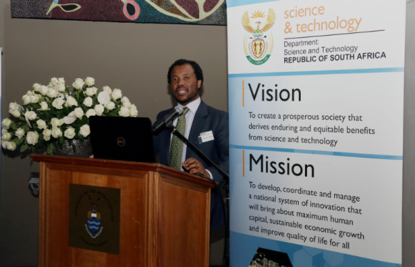DVC Research Professor Zeblon Vilakazi