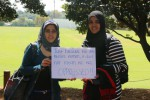 Saadia Mohamed and Tayyibah Ebrahim speak out against discrimination and stereotypes on campus