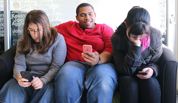 ANTI-SOCIAL?:  Recent anti-social media campaigns have criticized generation Y's of being out of touch with the world. Photo:  Lameez Omarjee