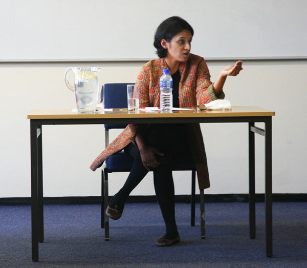SAVING WOMEN:  Dr Srila Roy, criticises the work of NGOs in India which fail to provide viable solutions to the problems faced by marginalised women. Photo: Bongiwe Tutu
