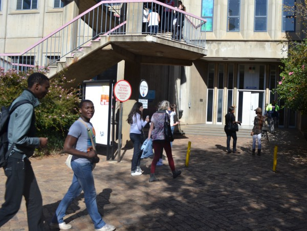 GASSING UP?: The Richard Ward building known for housing chemical and metallurgical engineering students will now be the home for petroleum and gas engineering students. Photo: Lameez Omarjee