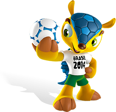 World Cup mascot Fuleko will become a familiar sight in the coming weeks of the tournament. Graphic: FIFA
