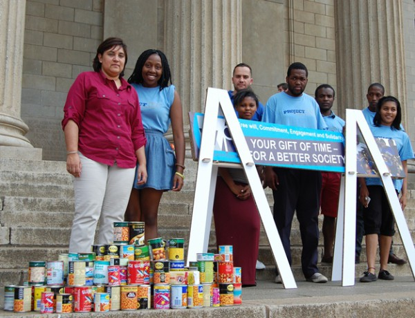 The Wits Food Bank is appealing to Witsies to assist students in need through donations. Photo: Wits Communications.