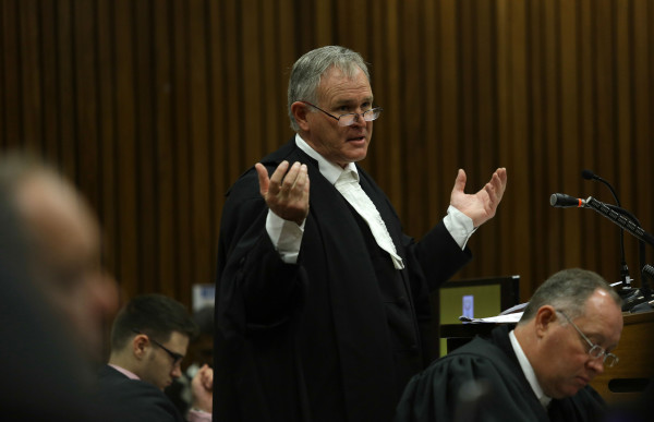 Advocate Barry Roux, attorney for Oscar Pistorius, spoke at Wits last week about the problems in the criminal justice system. Photo: Courtesy EWN.