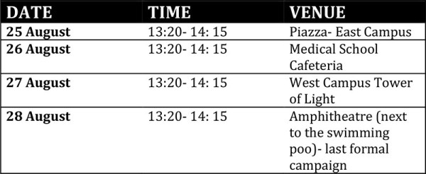 Circus Schedule