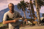 One of the characters of Grand Theft Auto 5.  Photo: buzz wide