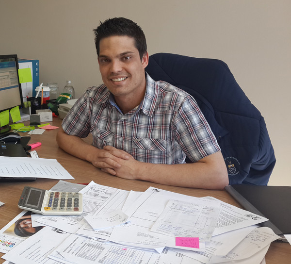 Ricardo de Sao Joao, Wits SRC administrator, IR masters student and  one of the most helpful guys on campus.   Photo: Ilanit Chernick