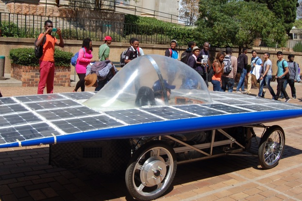 LIGHTYEAR: The Wits Solar Car will race from Pretoria to Cape Town starting Saturday September 27, the winning car must travel the longest distance in eight days. Photo: Provided