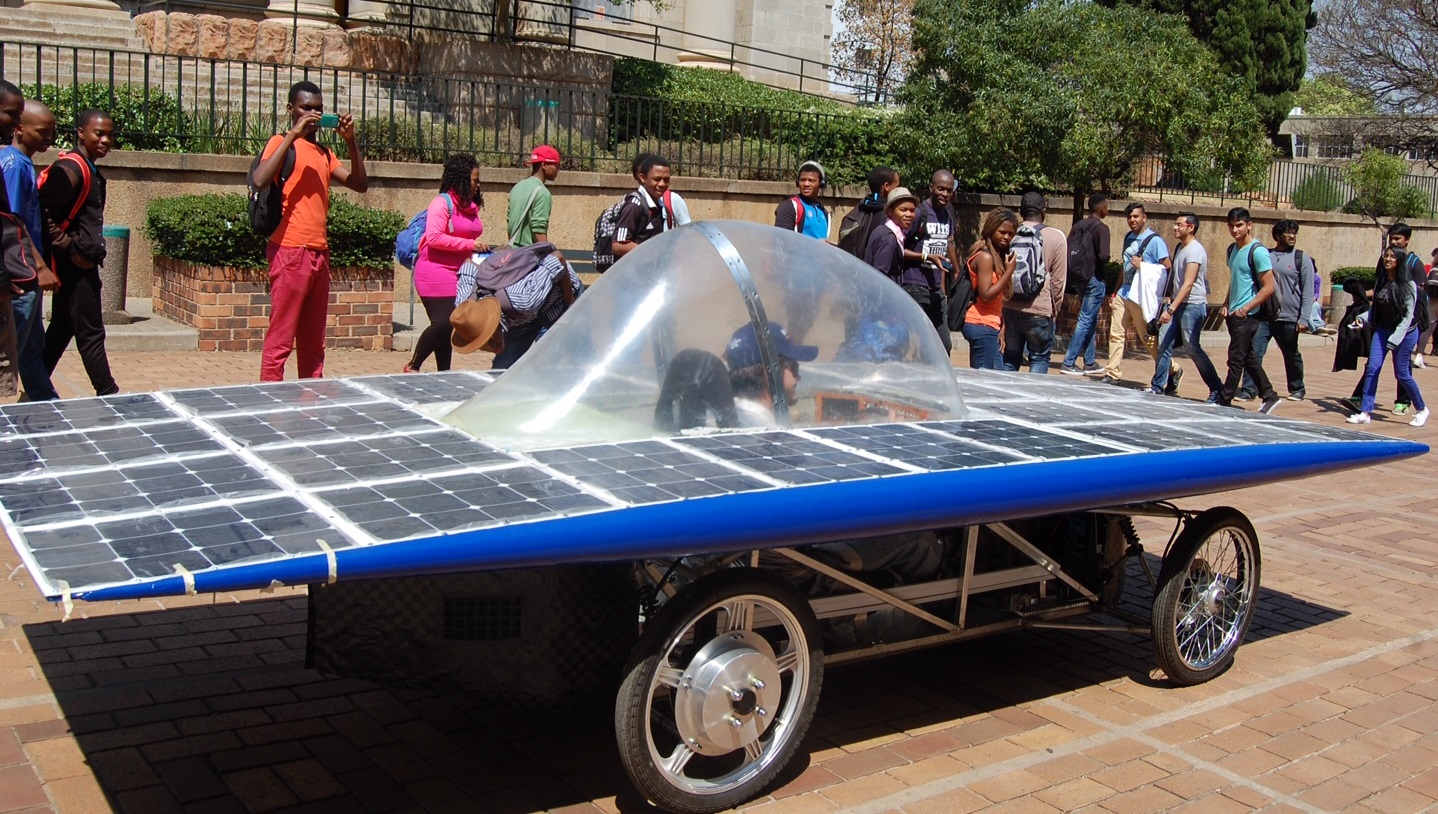 Wits solar car takes on long distance challenge
