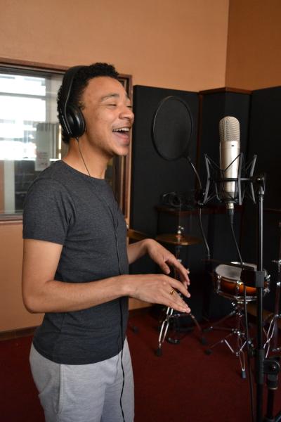 Jazz vocalist Sean Jacobs.  Photo: Percy Matshoba