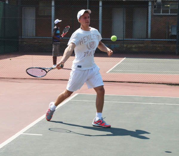 COURT ORDER: Witsie Adam Gordon, third year BCom Law student triumphed over his coach and took the top spot at the Wits Tennis Club Championships, men's final. Photo: Bongiwe Tutu