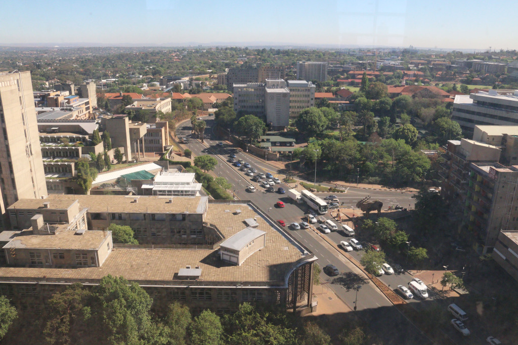 Braamfontein is set to become an extension of Wits campus. The university will take responsibility for the upgrade of facilities in the area. Photo: Roxanne Joseph