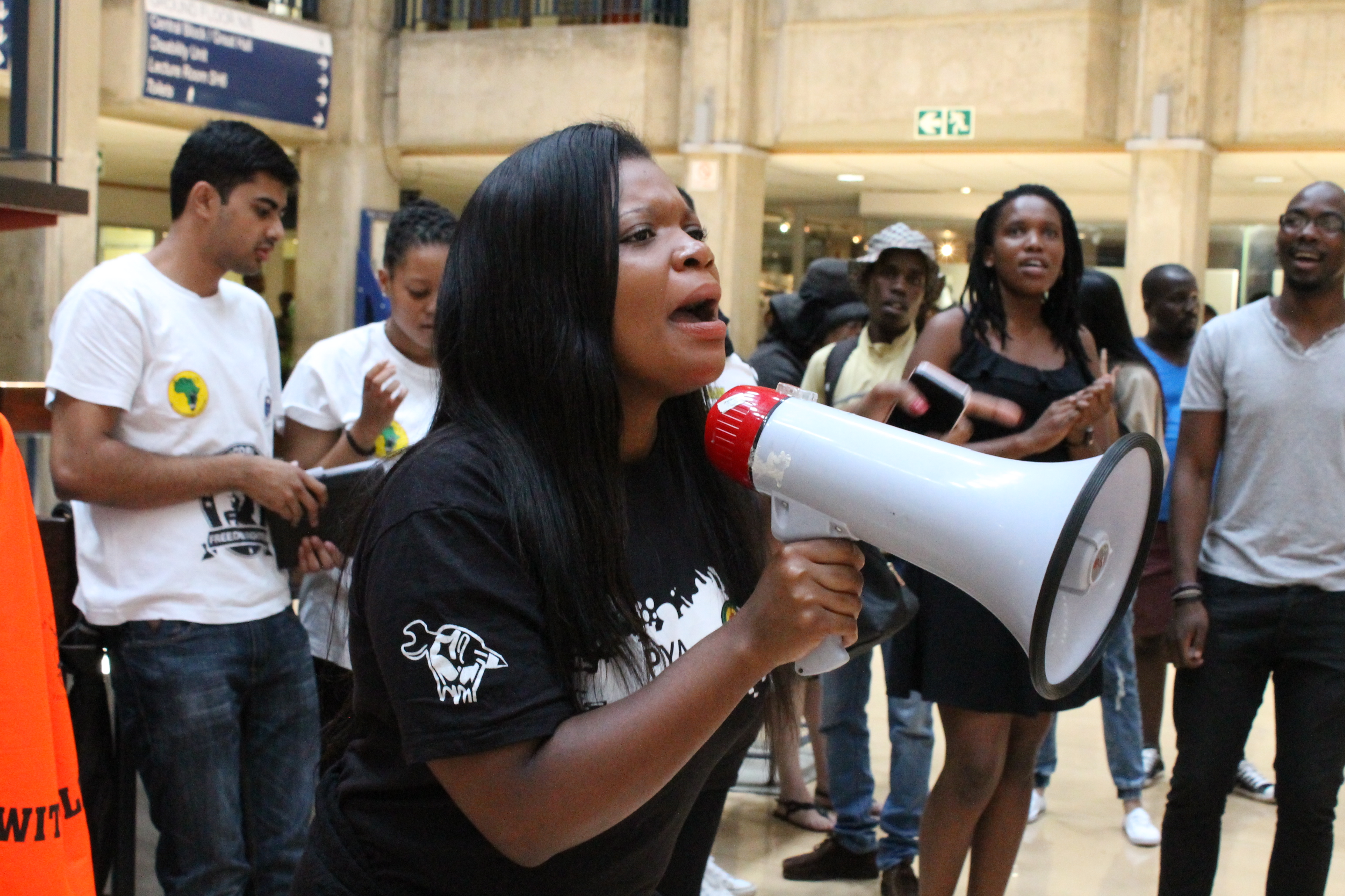 wits students protest nsfas application complications. Black Bedroom Furniture Sets. Home Design Ideas