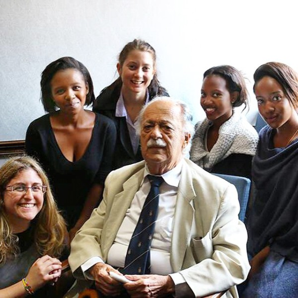 Our #interns with Advocate #GeorgeBizos at the #1Million1Month launch in…