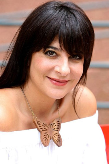 Aspasia Karras, editor-in-chief of Marie Claire South Africa.