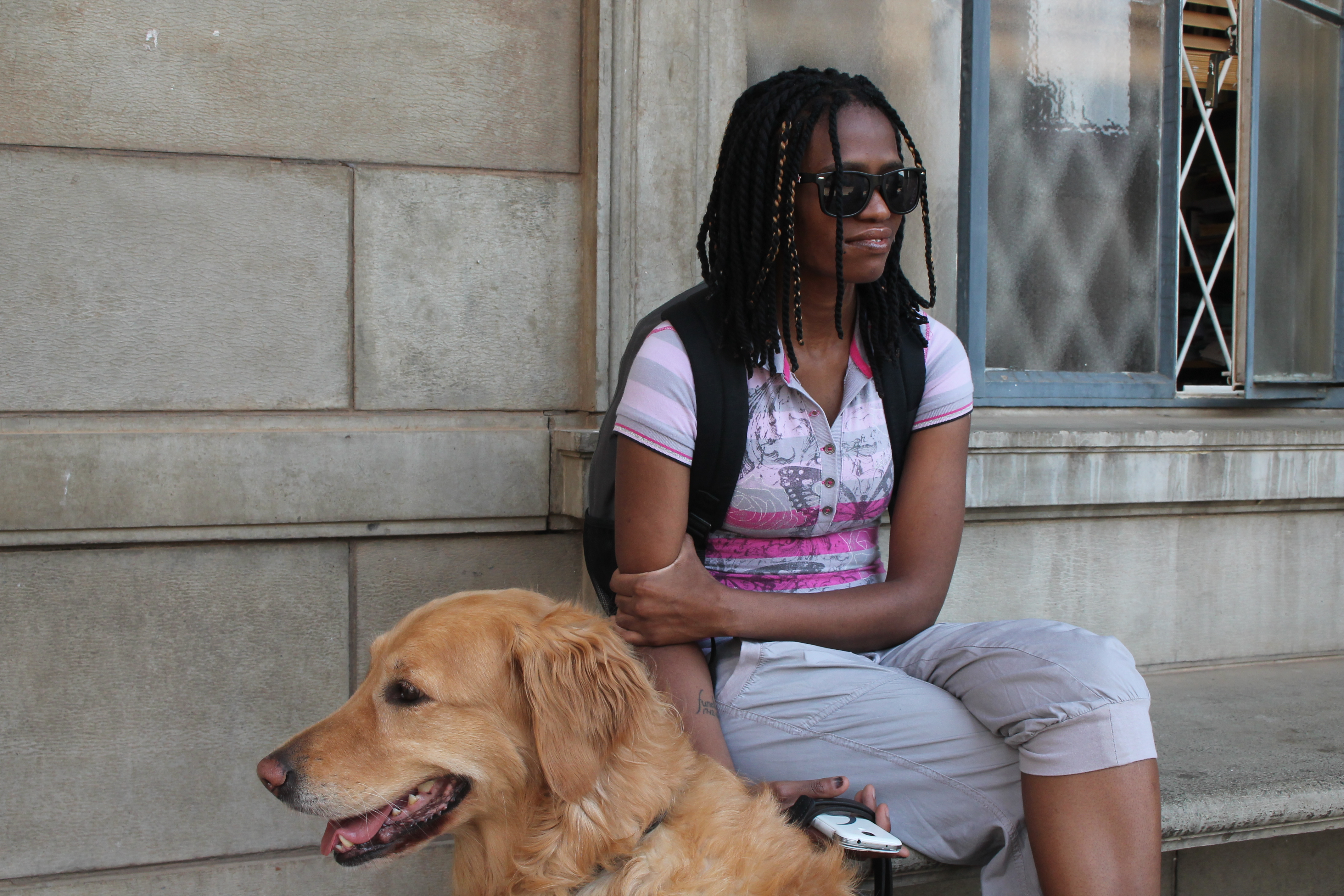 Blind NSFAS student spared homelessness