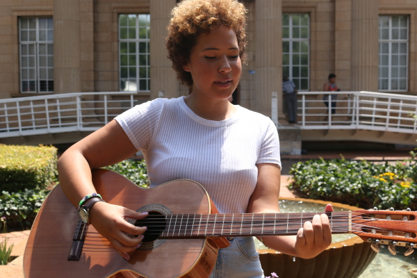 SOULFUL SISTER: Third-year B.A student Nicole Daniella sings her way to the top. Photo: Ilanit Chernick