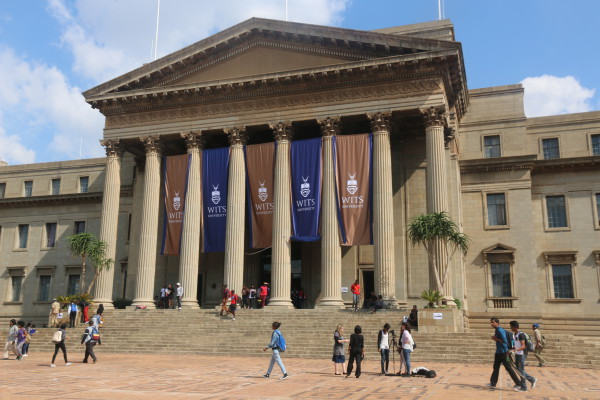 PRIDE: Wits SRC has now managed to raise R 1,7 million to fund the registration fees of nearly 3 000 NSFAS students. Photo: Tendai Dube