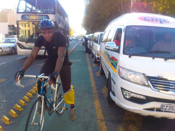COMMUTERS: Cyclists want consequences to be enforced when vehicles are parked in cycling lanes.