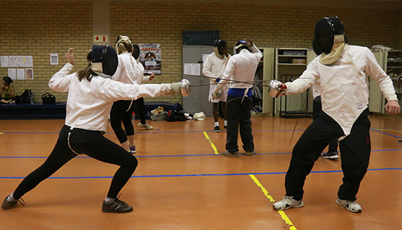 IN PANIC MODE: The Wits Fencing club is now expected to dig deep into their own pockets for maintenance costs among others. Photo: Nqobile Dludla